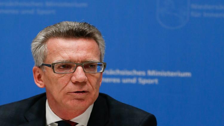 وزير الداخلية الألماني: لتحقيق الاستقرار في سوريا لابد من عملية برية