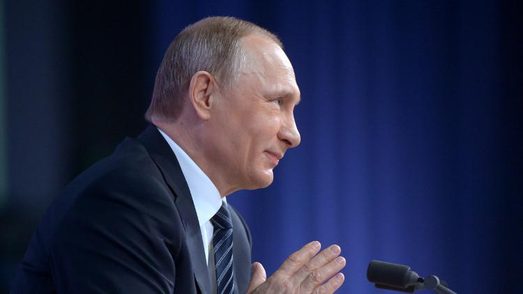 بوتين: ابنتاي تقيمان وتعملان في روسيا وتعيشان حياة عادية