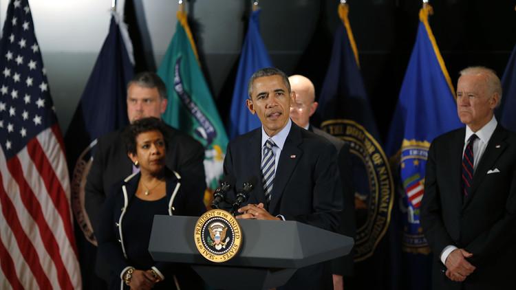 أوباما: لا نملك معلومات حول هجمات محتملة ضد الولايات المتحدة