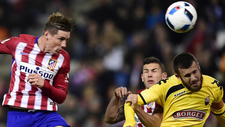 أتلتيكو مدريد يواصل مشواره في كأس إسبانيا (فيديو)