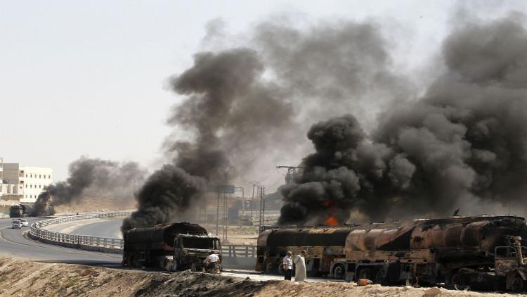 واشنطن تكشف بيع داعش النفط بالملايين ولكن لا تذكر لمن !