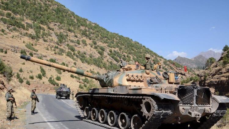 مقتل 54 مسلحا كرديا في جنوب شرق تركيا في ثلاثة أيام