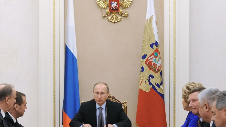 الكرملين: بوتين بحث مع مجلس الأمن الروسي سبل قطع قنوات تمويل الإرهاب