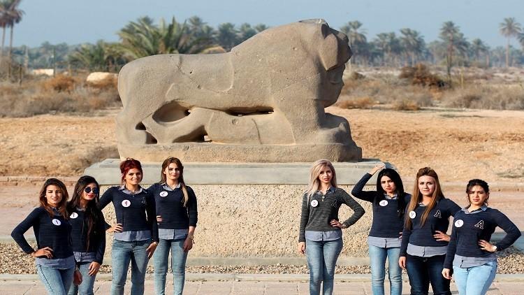 العراق بانتظار ملكة جماله بعد غياب دام أكثر من 40 عاما (صور)