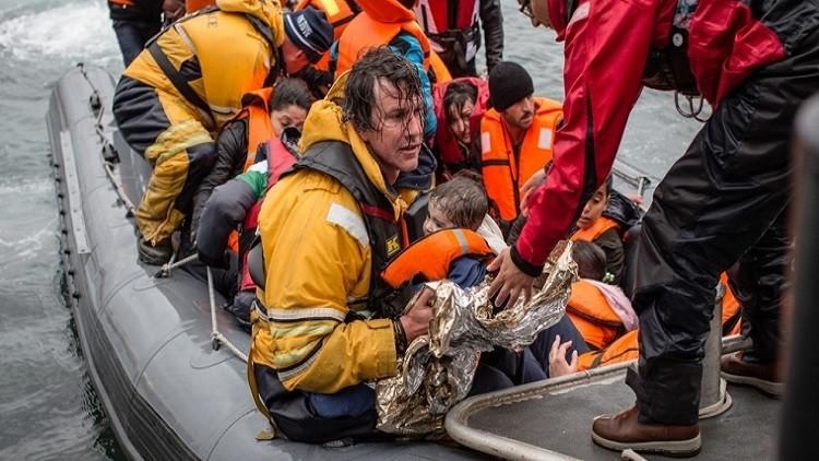 غرق 18 مهاجرا في بحر إيجة