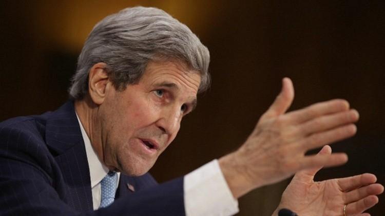كيري: الأهداف الروسية والأمريكية في سوريا متطابقة