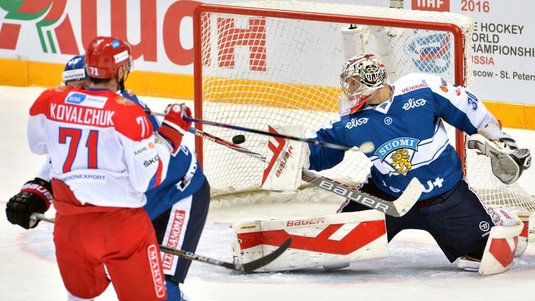 روسيا تصب جام غضبها على فنلندا فوق جليد موسكو