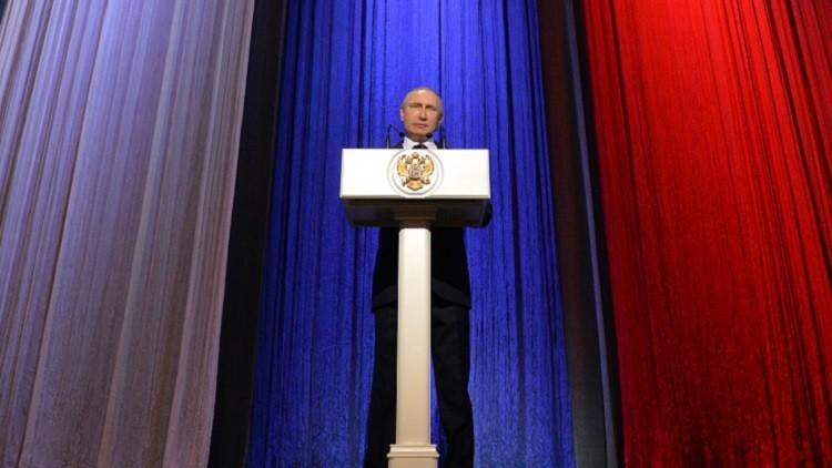 بوتين: قد نستخدم في سوريا وسائل قتالية إضافية إذا لزم الأمر
