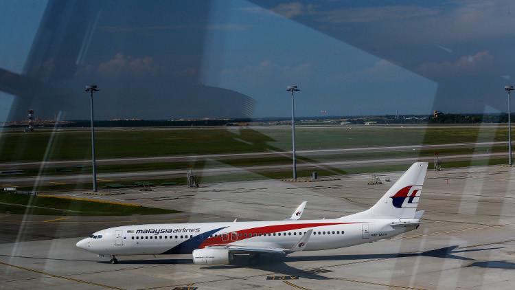 طائرة ماليزية تهبط اضطراريا في كوالا لامبور !