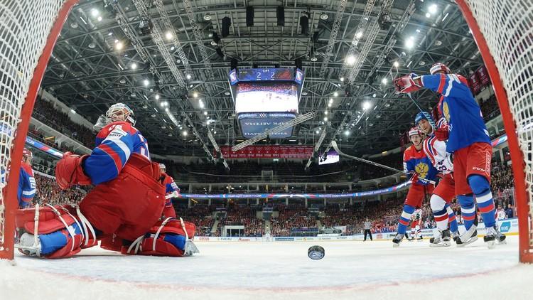 روسيا تخسر من التشيك على جليد موسكو