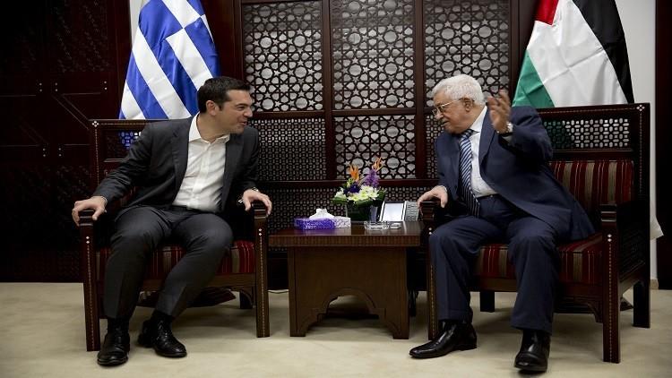 تسيبراس: حل قضية فلسطين مفتاح للسلام في الشرق الأوسط