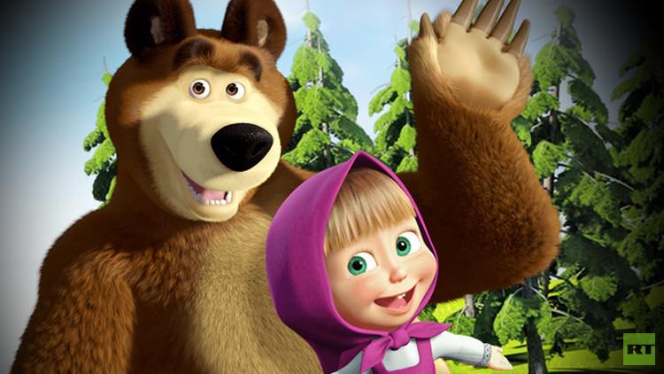 فيلم ماشا و الدب