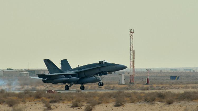 مصدرعسكري: طائرة كندية قصفت الجنود العراقيين