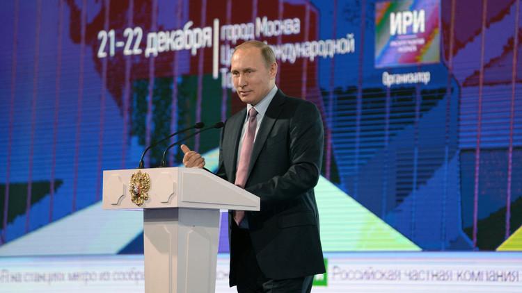 بوتين: الإنترنت قد تصبح محرك الاقتصاد الروسي