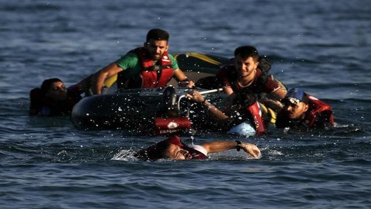 غرق 10 مهاجرين قبالة جزيرة يونانية