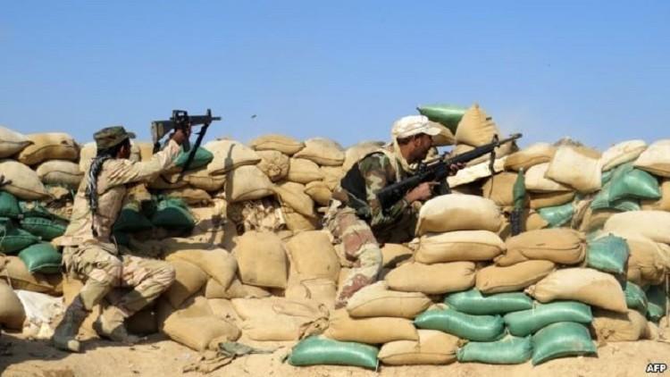 الجيش العراقي يقضي على 8 قياديين في