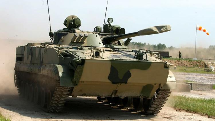 نبذة عن عربة المشاة القتالية الروسية