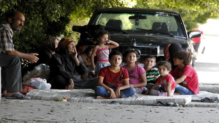 أغلب اللاجئين السوريين في لبنان يعيشون
