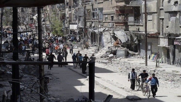 داعش يغادر دمشق