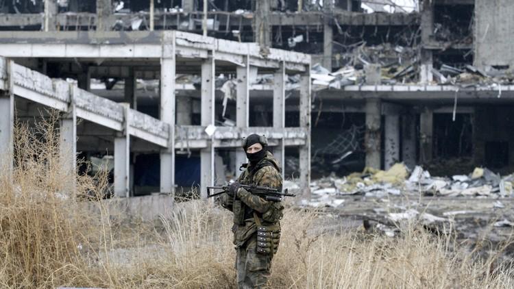 القوات الأوكرانية تقصف مقاطعة دونيتسك