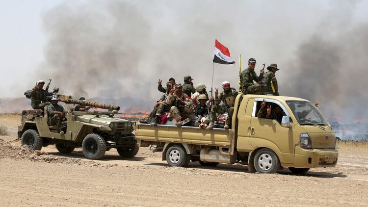القوات العراقية تحرر منطقة الحوز وسط الرمادي مع اشتداد القتال