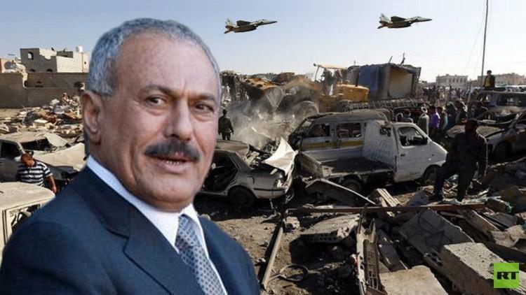 علي عبد الله صالح يهدد السعودية