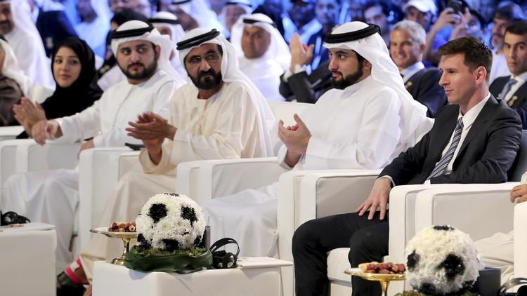 بارتوميو يعلن من دبي أن ميسي أفضل لاعب في العالم