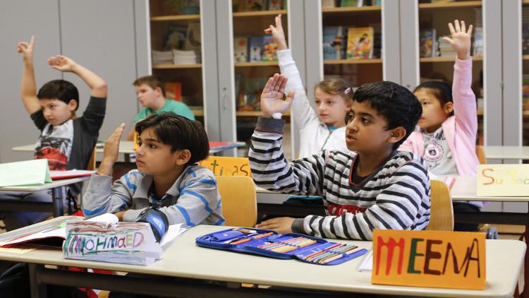 ألمانيا تفتح أكثر من 8000 صف مدرسي لأطفال اللاجئين