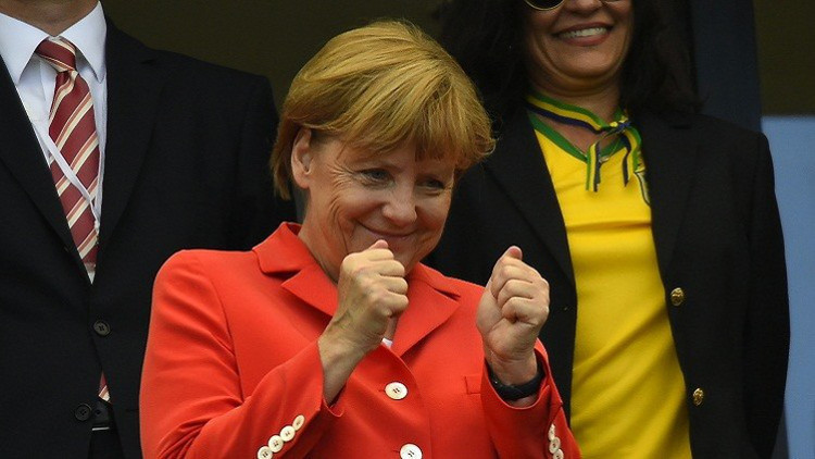 فرانس برس تختار ميركل الشخصية الأكثر نفوذا خلال عام 2015