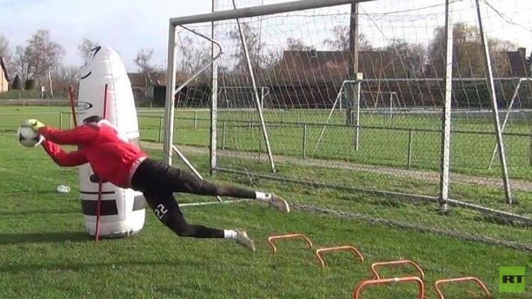 حارس مرمى سوري يقترب من الاحتراف في الدوري البلجيكي