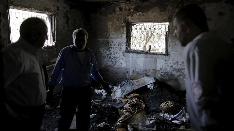 بعد انتقادات.. إسرائيل تعتقل يهودا احتفلوا بمقتل الطفل دوابشة