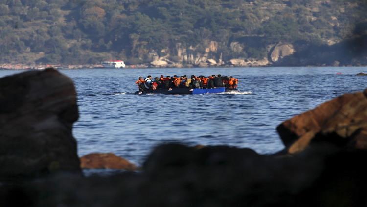 عدد اللاجئين القادمين إلى أوروبا عبر البحر تجاوز المليون