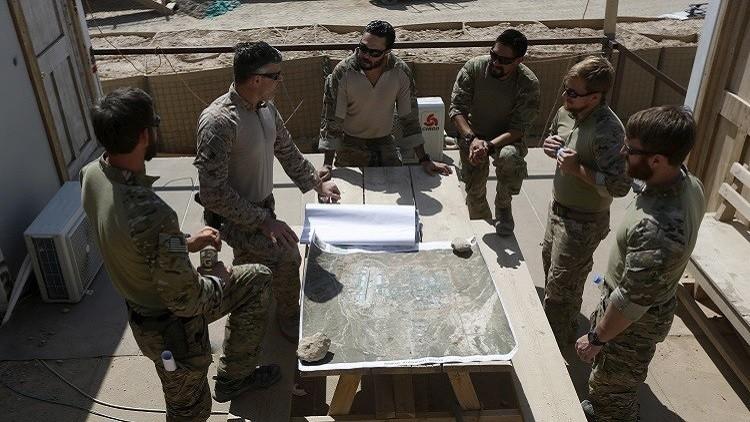 قوات أمريكية كردية تنفذ عملية إنزال في الحويجة شمالي العراق
