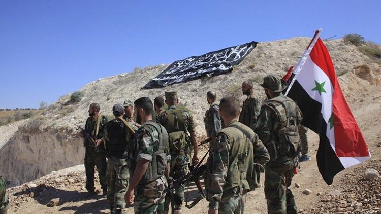 مراسلنا: تقدم الجيش السوري داخل محيط القريتين في ريف حمص واستهداف مواقع