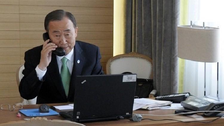 الأمم المتحدة تعرض المساعدة في إعادة النازحين إلى الرمادي