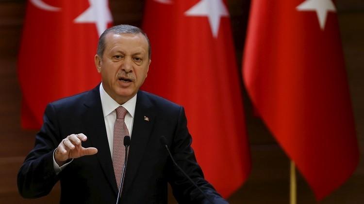 أردوغان: لن نتهاون في الحملة العسكرية ضد المسلحين الأكراد