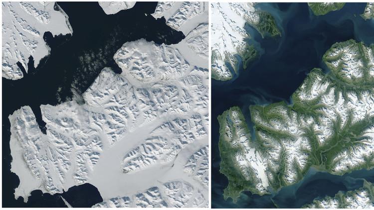 موجة حر تجتاح القطب الشمالي