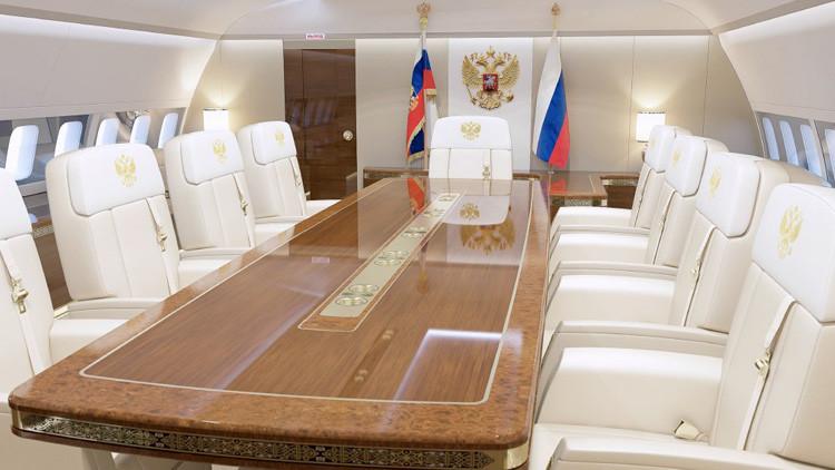 نبذة عن طائرة الرئيس الروسي