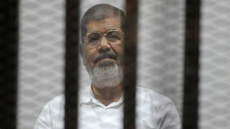 محاكمة محمد مرسي في قضية التخابر مع قطر