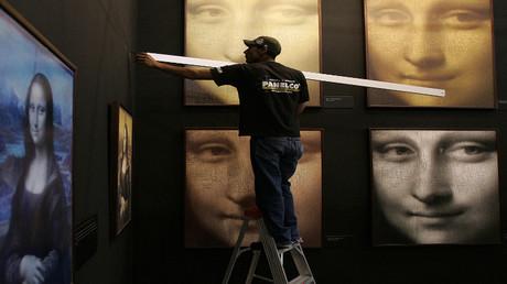 معرض للوحات الفنان ليوناردو دافنشي