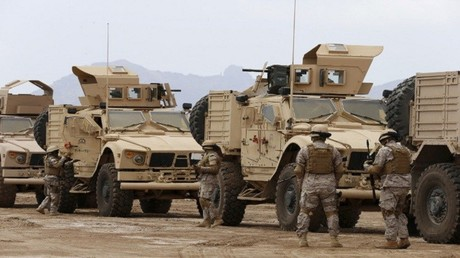 قوات سعودية من ضمن تشكيلات التحالف العربي