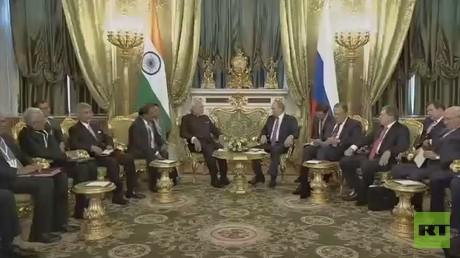 اتفاق روسـي هندي علـى تعزيـز جهود مكافحة الإرهاب