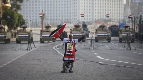 استنفار أمني بميدان التحرير - أرشيف