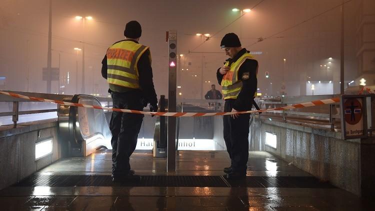 إخلاء محطتي قطارات في ميونيخ