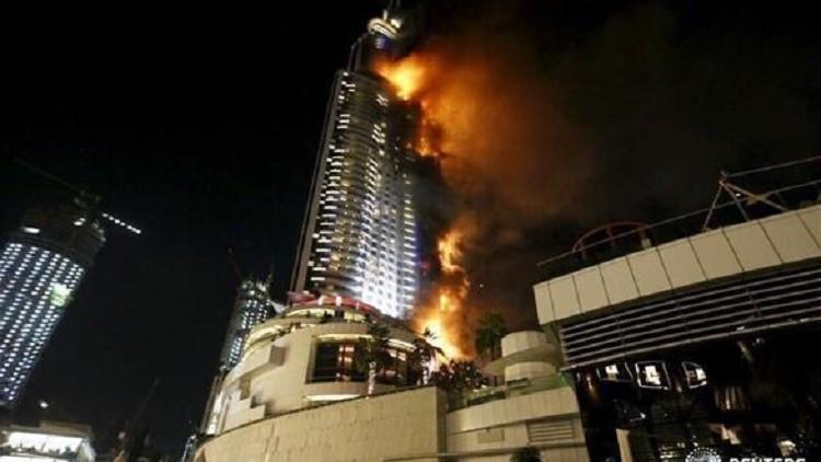 تفاصيل حريق دبي يرويها أحد الناجين (فيديو)