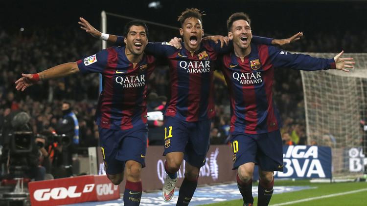 ثلاثي برشلونة المرعب يتصدر قائمة أفضل لاعبي العالم لعام 2015