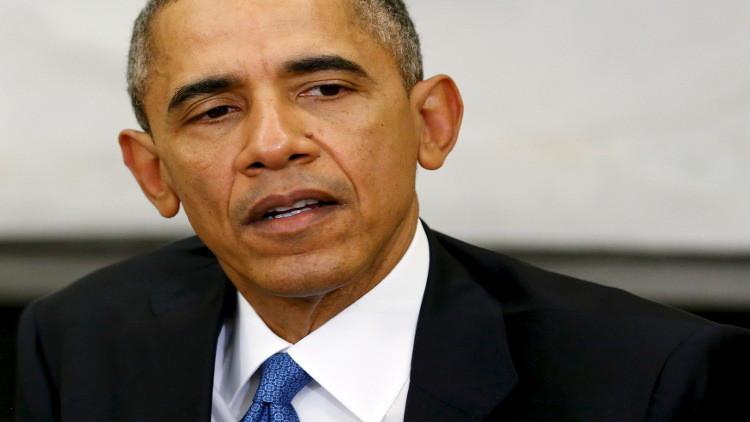 أوباما يتعهد بالحد من ظاهرة استخدام الأسلحة النارية