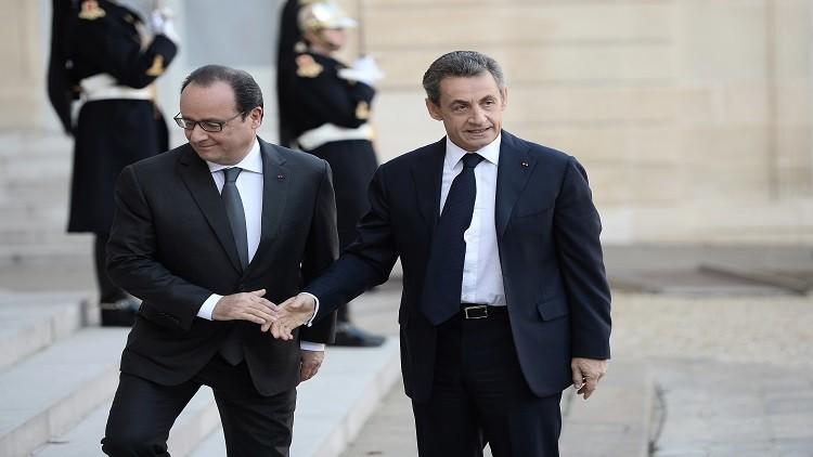 فرنسا.. أغلبية كاسحة ترفض ترشح هولاند وساركوزي للرئاسة