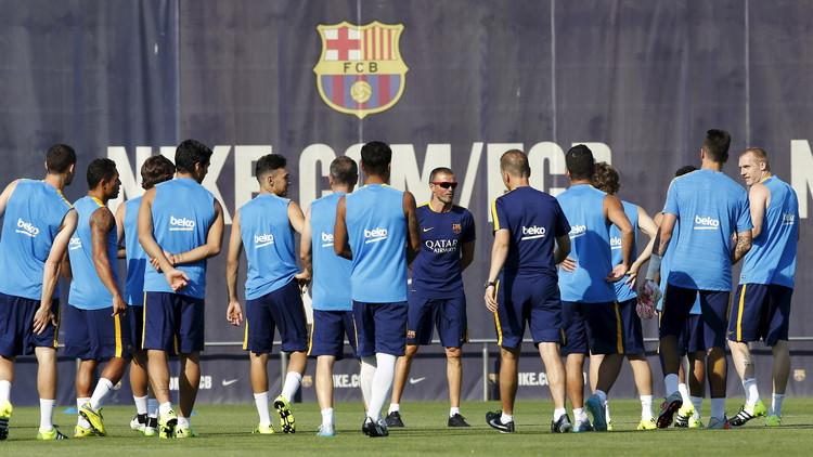 تشكيلة برشلونة في مواجهة إسبانيول