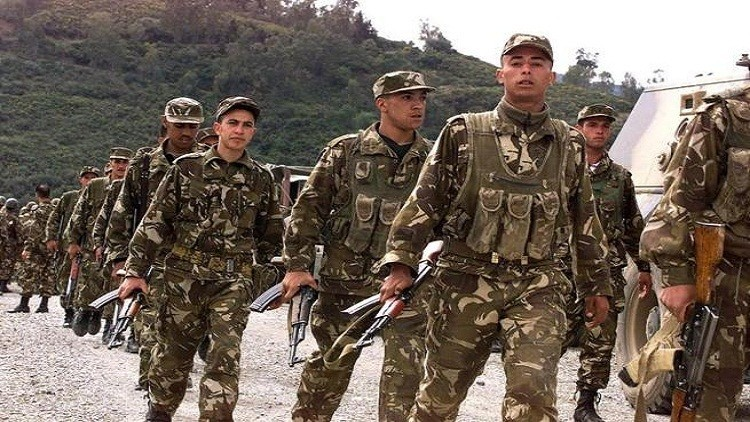 الجيش الجزائري يعلن تصفية واعتقال 157 مسلحا عام 2015